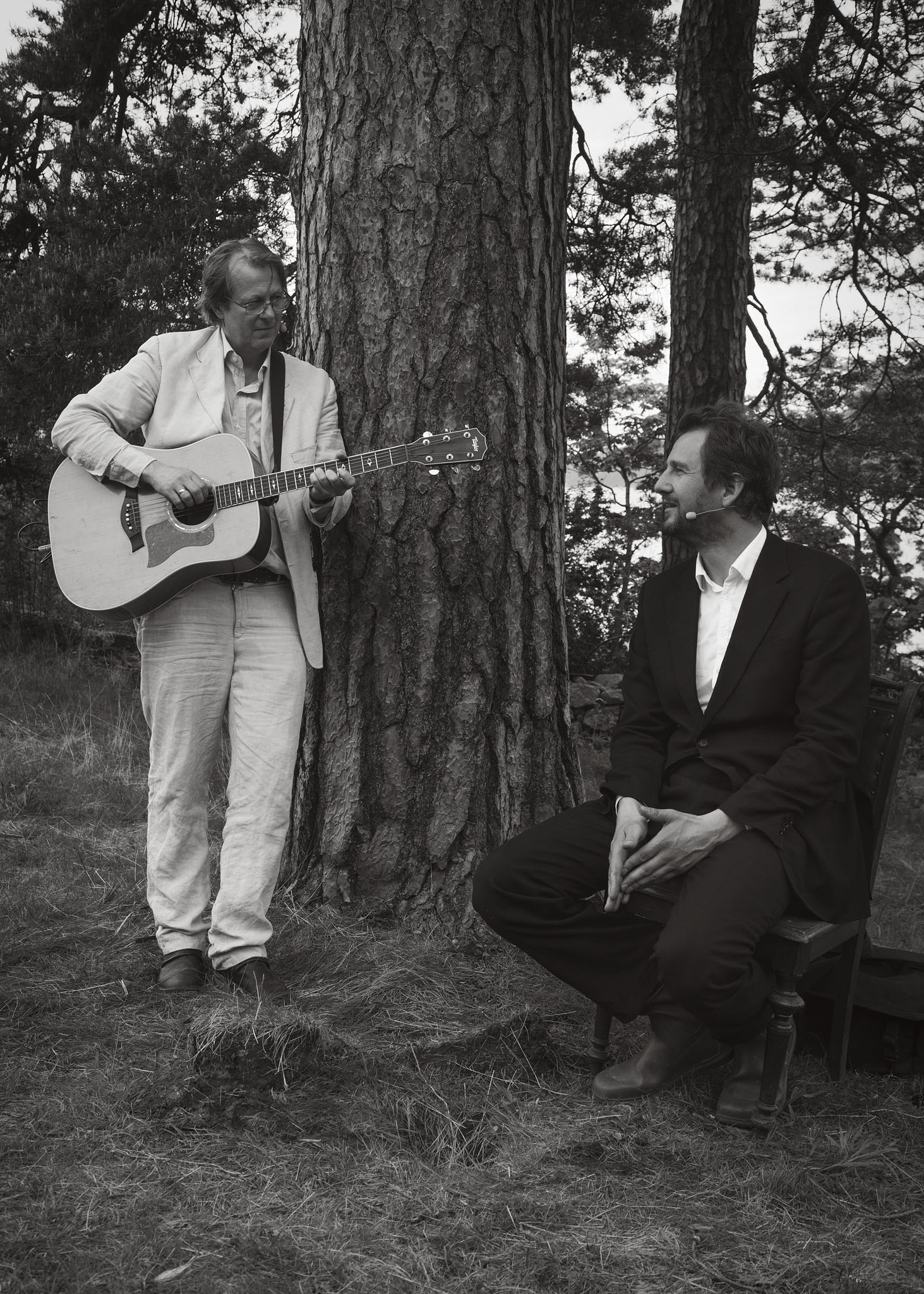 Lars og Henrik på Muncheramme